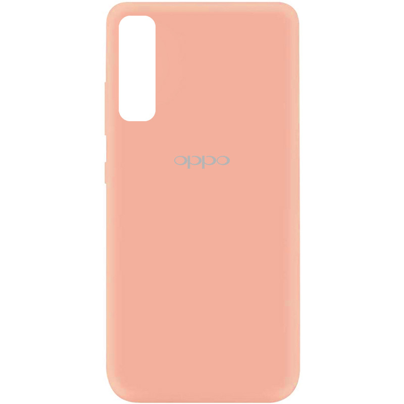 Чехол Silicone Cover My Color Full Protective (A) для Oppo Reno 3 Pro (Розовый / Flamingo)