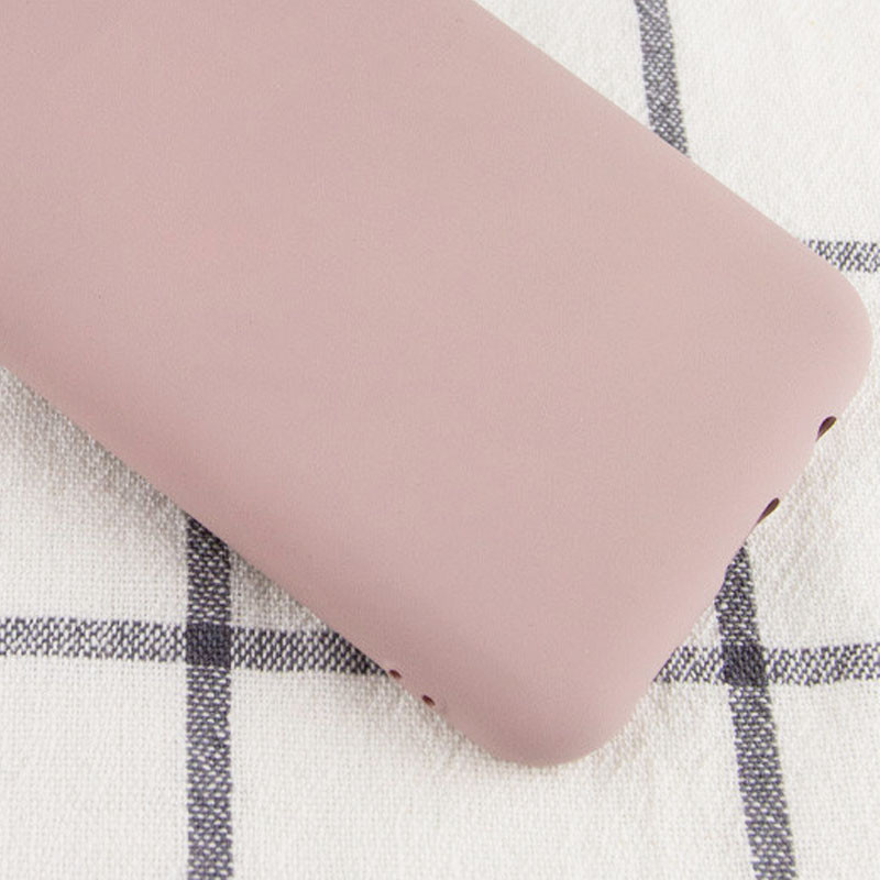 Чехол Silicone Cover My Color Full Protective (A) для Samsung Galaxy A10s (Розовый  / Pink Sand)