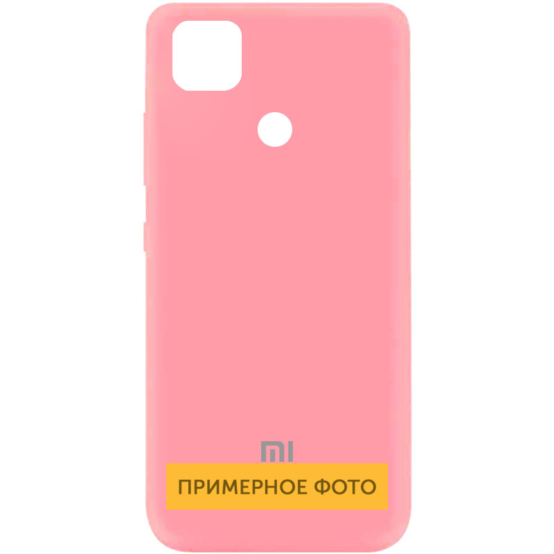 Чехол Silicone Cover My Color Full Protective (A) для Xiaomi Mi 10T / Mi 10T Pro (Розовый / Pink)